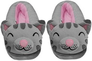The Big Bang Theory Soft Kitty Gray Slippers