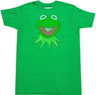 The Muppets Kermit Adult T-Shirt