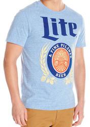 Miller Lite Logo Adult T-Shirt