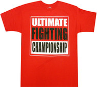 UFC  Ultimate Fighting Championship Adult T-Shirt