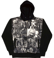 The Walking Dead Classic Image Sublimation Adult Zip Hoodie