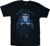 Sons of Anarchy Reaper And Desert Highway Adult T-Shirt