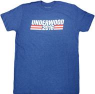 House Of Cards Underwood 2016 Adult T-Shirt