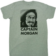 Captain Morgan Face Logo Adult T-Shirt