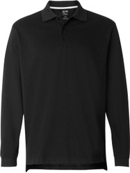 Adidas Golf Men's ClimaLite Tour Piqué Long-Sleeve Polo