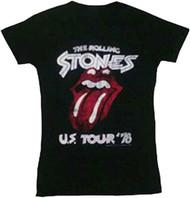 The Rolling Stones US Tour 78 Juniors T-Shirt