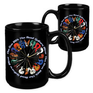 The One with the Most Guitars Wins - 15 Ounce Sublimation Mug