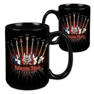 Famous Bass Guitars - 15 Ounce Sublimation Mug