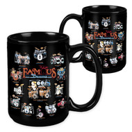 Famous Drums Set - 15 Ounce Sublimation Mug