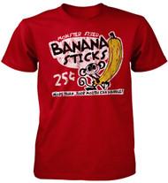 Monster Sized Banana Sticks Adult T-Shirt