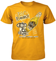 Big Banana Beer Goes Down Smooth Adult T-Shirt