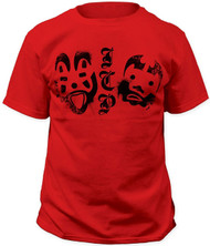 ICP Insane Clown Posse - Clown Face Logos Adult T-Shirt