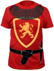 Impact Original Costume Design Knight Print Adult T-Shirt
