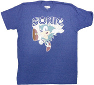 Sonic The Hedgehog - Throwback Hedgehog Adult T-Shirt