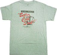 Breaking Bad Better Call Saul Goodman Adult T-Shirt