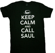 Breaking Bad - Keep Calm And Call Saul Adult T-Shirt