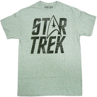 Star Trek Logo Adult T-Shirt