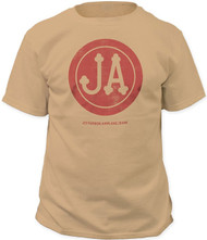 Jefferson Airplane Bark Pigment Dyed Adult T-Shirt