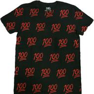 100 Print Adult T-Shirt