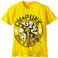WWE CM Punk Best in the World Youth T-shirt