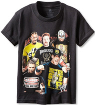 WWE Superstars Best Fighters Youth T-Shirt