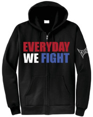 TapouT Everyday We Fight Zip Up Hoodie