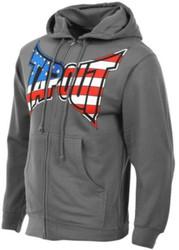 TapouT Patriot Zip Up Hoodie