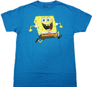 SpongeBob - Sponge Bob Reversable Adult T-Shirt