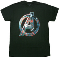 Marvel The Avengers: Age Of Ultron Logo Adult T-Shirt