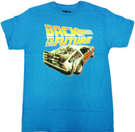 Back to the Future Delorean Adult T-Shirt