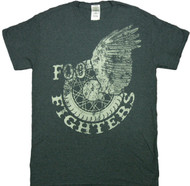 Foo Fighters Winged Wheel Adult T-Shirt
