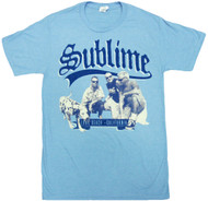 Sublime Band Photo Kneeling Adult T-Shirt