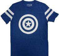 Marvel Captain America Shield Reflective Adult T-Shirt
