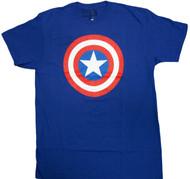Marvel Comics Captain America Shield Adult T-Shirt