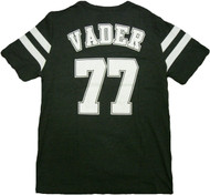 Star Wars Vader 77 Varsity Double Sided Adult T-Shirt