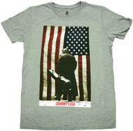 Johnny Cash Legend Of Cash Americana Adult T-Shirt