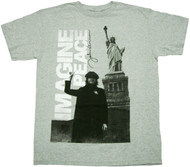 John Lennon Imagine Adult T-Shirt