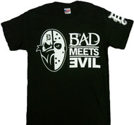 Eminem Bad Meets Evil Masks Adult T-Shirt