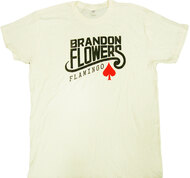 Brandon Flowers - Flamingo Logo Adult T-Shirt