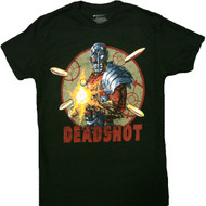Deadshot Shooting Adult T-Shirt