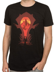 World of Warcraft Horde Silhouette Premium Adult T-Shirt