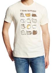 Pusheen I Love Kitties Adult T-Shirt