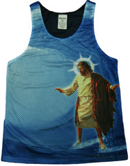 Surfs Up Jesus Tank Top