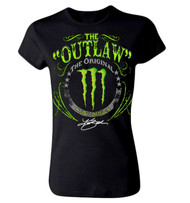 Panic Switch Kurt Busch The Outlaw Monster Juniors T-Shirt