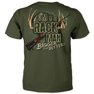 I'm a Rack Man - The Bigger The Better T-shirt