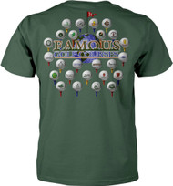 Famous Golf Courses Adult T-Shirt
