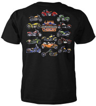 Life Is Full Of Important Choices Motorcycle Adult T-Shirt