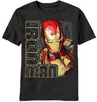 Iron Man Looking Right Youth T-Shirt