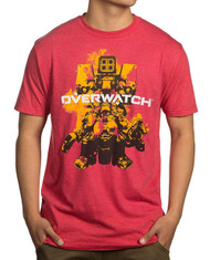 Overwatch Build Em Up Premium Adult T-Shirt