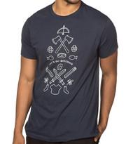 Minecraft Let's Go Exploring Premium Adult T-Shirt